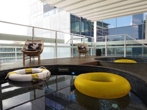 Australian Plunge Pools style at Limes Hotel Brisbane!