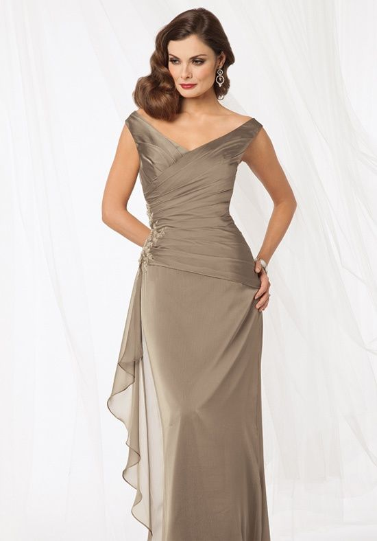 Wedding entourage cocktail gowns and dresses