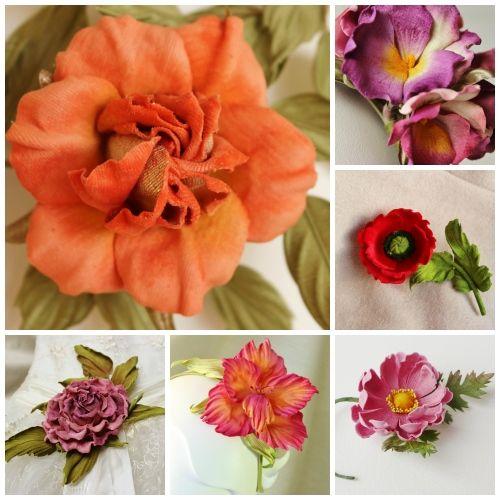 velvet for making flowers, velvet fabric for making flowers, velvet flowers, how to stiffen velvet, how to make velvet flowers, velvet leaves