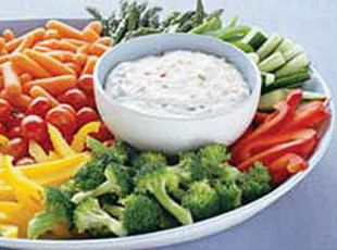 The Best Vegetable Dip Recipe