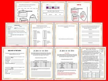 BOILING POINTS AND FREEZING/ MELTING POINTS SCIENCE AND LITERACY LESSON SET- - TeachersPayTeachers.com