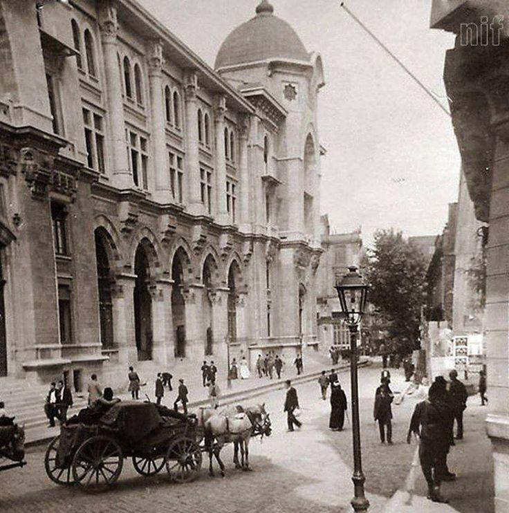 Büyük Postane, Sirkeci...1900'lü yıllar....