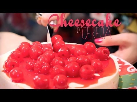 Receita de Cheesecake de Cereja e Drink SP Sunset - I Could Kill For Dessert  - S02E14