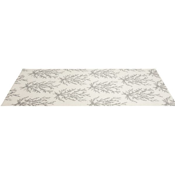Somerset Bay Boardwalk BDW-4007 Light Gray Flat Weave Area Rug (250 BRL) ❤ liked on Polyvore featuring home, rugs, tapete, light grey rug, light gray rug, flat weave area rugs, flat woven area rugs and coastal rugs