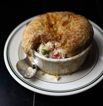 Crab Pot Pie Saveur