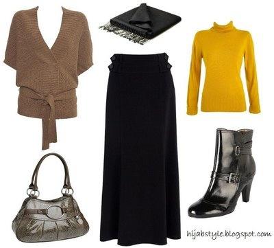 Hijab Style: Work Skirt
