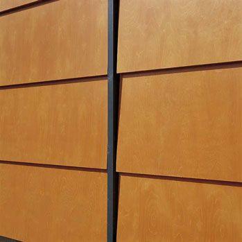 Fjällpanel - Lackade plywoodskivor