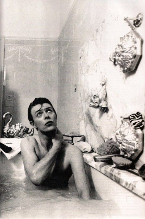 David Bowie - Bathing ...where do people find this stuff? O.o