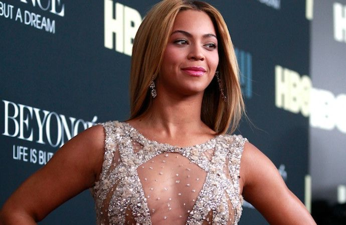 Beyonce is shooting a music video in the UK. (Getty Image)