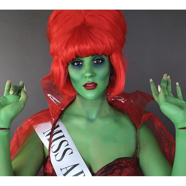 """Nicole Guerriero as """"Miss Argentina"""" from Beetlejuice"""