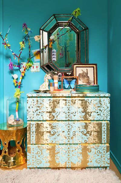 Great idea- putting wallpaper on... My favorite wallpaper from flavor paper