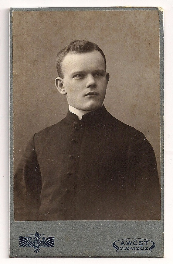 Vintage photo of priest from Europe  from https://www.etsy.com/listing/116147723/vintage-photo-of-priest-from-europe