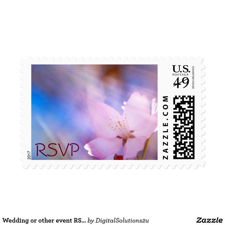 Wedding or other event RSVP Postage
