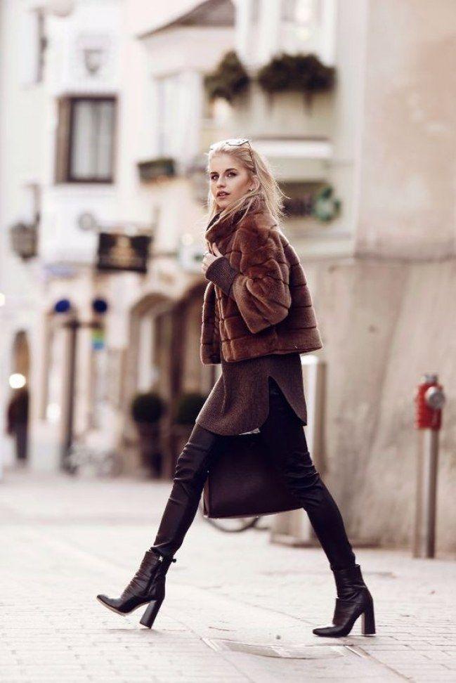 Stiefeletten mit Blockabsatz gehören zu den Trendschuhen