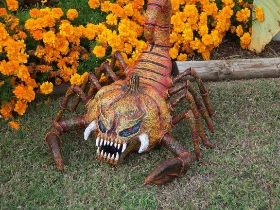 pretty cool scorpiumpkin hauntforum - Halloween Stuff