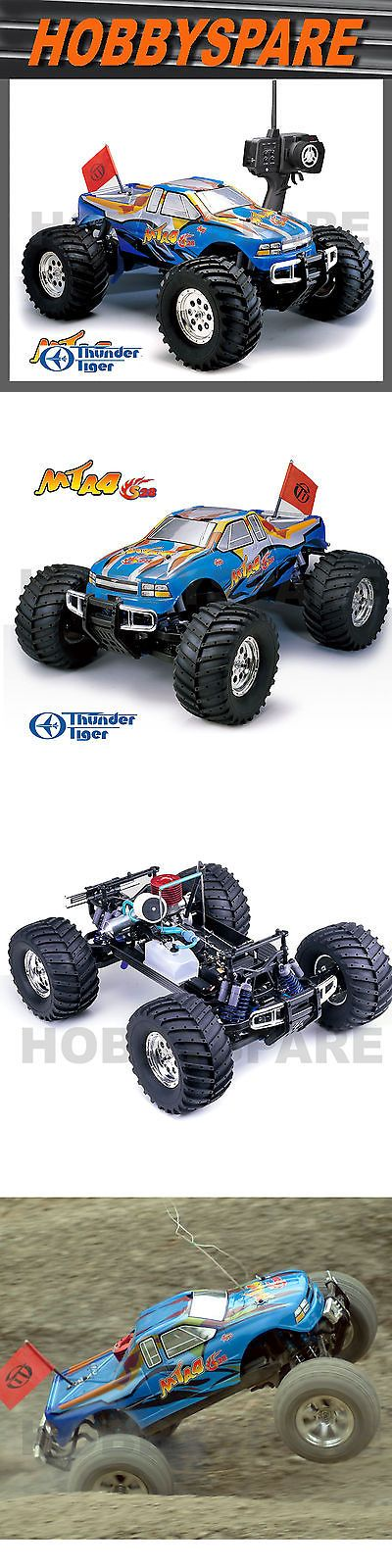 Industrial and Service Vehicles 182184: New Thunder Tiger 1 8 Mta S28 Nitro 2 Speed 4Wd Monster Rc Truck Rtr Blue -> BUY IT NOW ONLY: $379.99 on eBay!