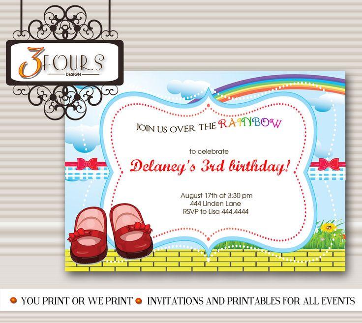 97 best birthday kids images on pinterest airplane birthday 20 wizard of oz birthday invitations birthday invitations ebay filmwisefo