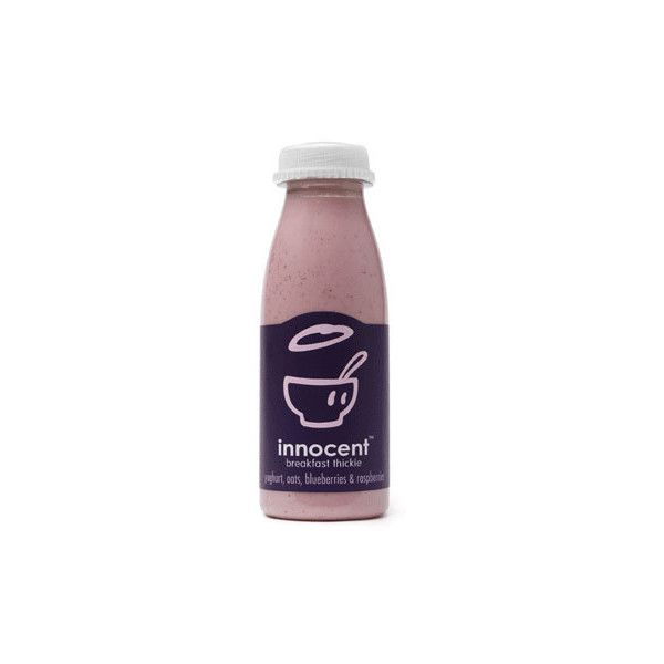 innocent drinks : our drinks - smoothies, thickies, really lovely... ❤ liked on Polyvore featuring food, fillers, drinks, food and drink, accessories and backgrounds