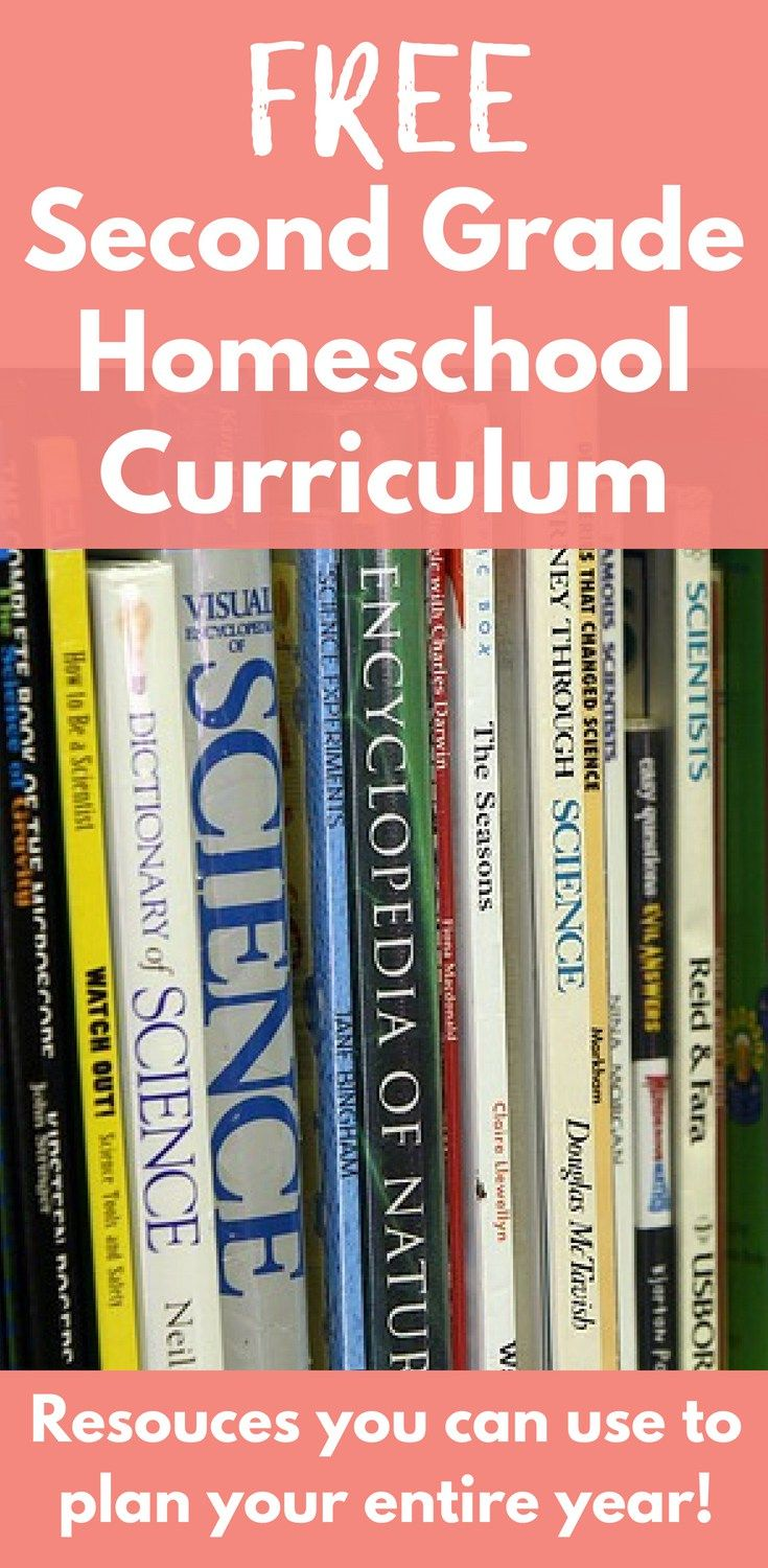 Free Second Grade Homeschool Curriculum | All Things