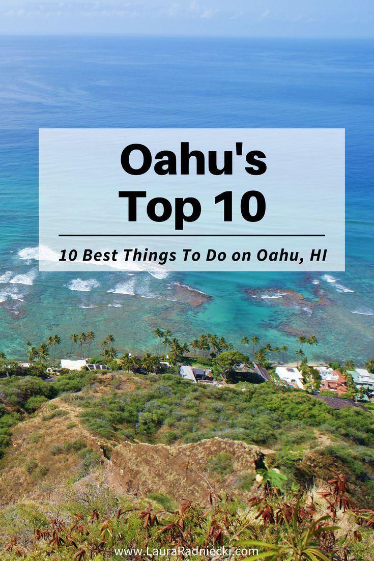 A list of the top 10 things to do on Oahu, Hawaii. Discover the must-see's and do's from snorkeling, hiking Diamond Head and Turtle Beach from a blogger who lived on Oahu for 9 glorious months. Don't miss a thing during your dream Hawaiian vacation!
