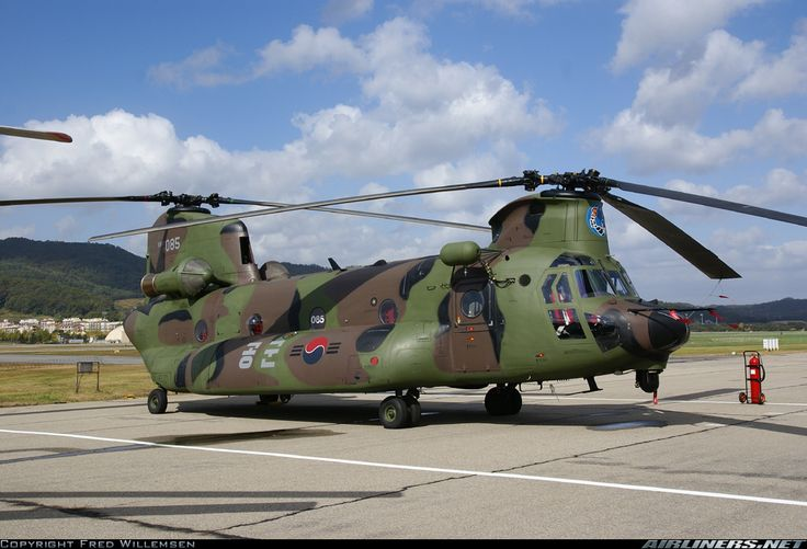 Boeing HH-47D Chinook (414) - South Korea - Air Force | Aviation Photo #1620973 | Airliners.net