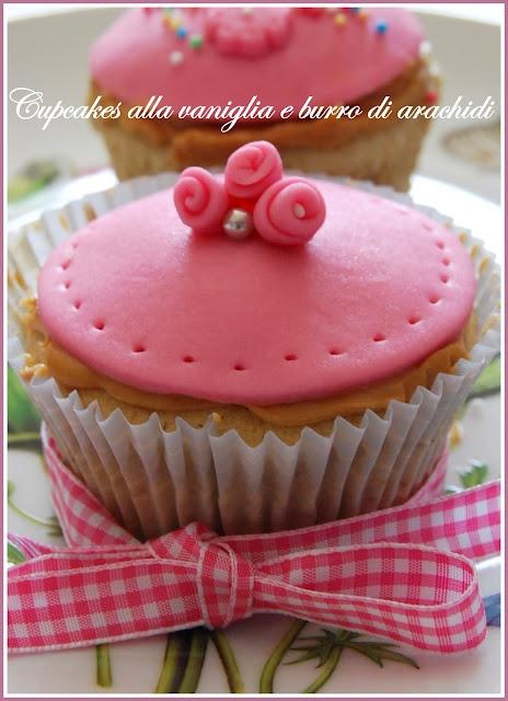 #Cupcakes alla #vaniglia e burro di arachidi @guarnireipiatti