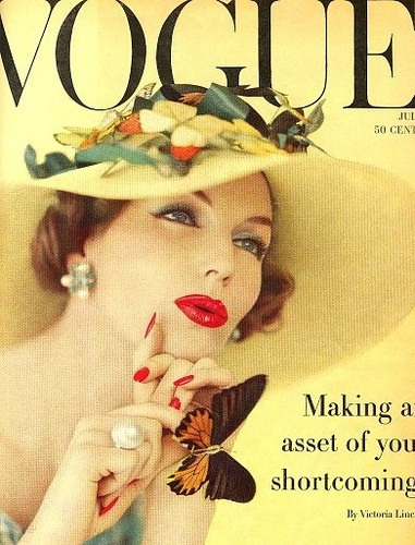 Joanna McCormick, Vogue cover July 1957