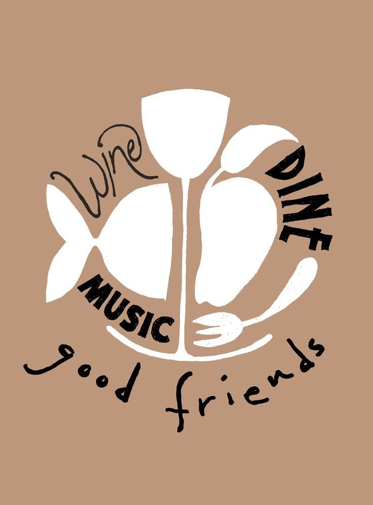 Wine, dine, music, good friends Happy page vtwonen maart 2013 Print uit, stijl op jouw manier, maak een foto en deel met #vtwonenbijmijthuis.