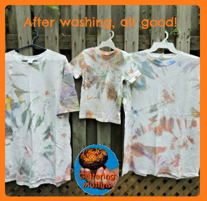 Faux-tie-dye acrylic paint shirt | Glittering Muffins: Faux Ties Dyed Acrylics, Crafts Ideas Diy, Ties Dyes Shirts, Acrylics Crafts, Acrylics Paintings, Paint Shirts, Glitter Muffins, Paintings Shirts, Babysitting Ideas