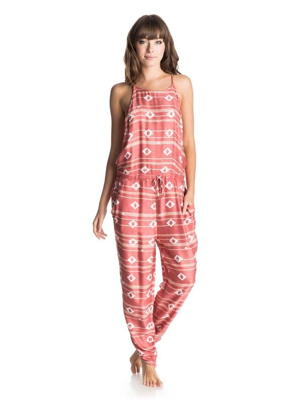 Roxy™ Dakota Jumpsuit L Noosa Geo Combo Faded Rose
