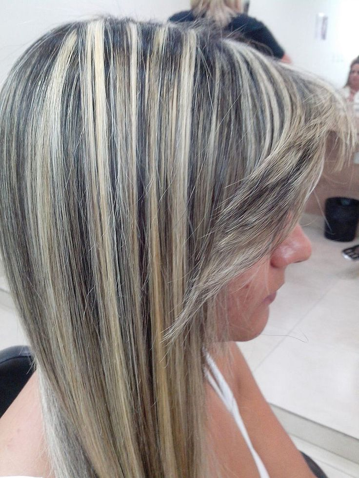 501 best highlighted streaked foiled frosted hair 1 images on streaks bangs pmusecretfo Choice Image