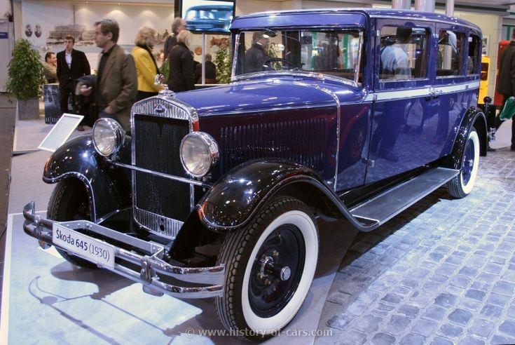 #SKODA 645 Limousine