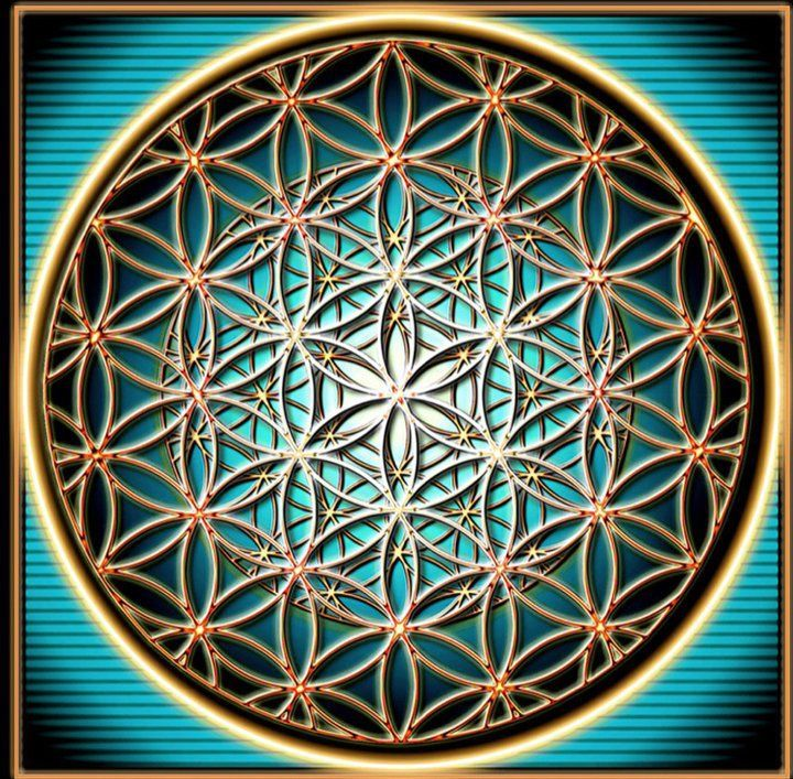fractalized flower of life - the flower of life has been known to man for at least 2,500 years - it was first 'discovered' in ancient meopotamia at king ashurbanipal's palace (645 b.c.). the symbol can also be found in assyria, egypt, india, romania, israel, china, japan, bulgaria, turkey, spain, austria, italy, morocco, lebanon, peru, mexico & england.