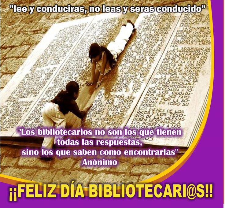 14 de Noviembre: Día del Bibliotecario en Perú. ¡¡¡FELICIDADES!!!
