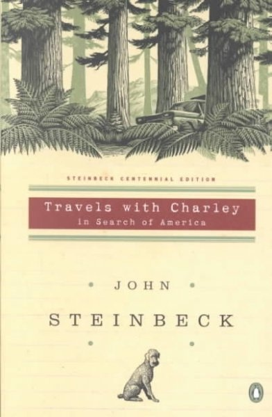 Travels with Charley by John Steinbeck.: Reading, Dogs, John Steinbeck, Book Worth, Clock, Standards Poodle, American Author, Roads Trips, Penguins Book