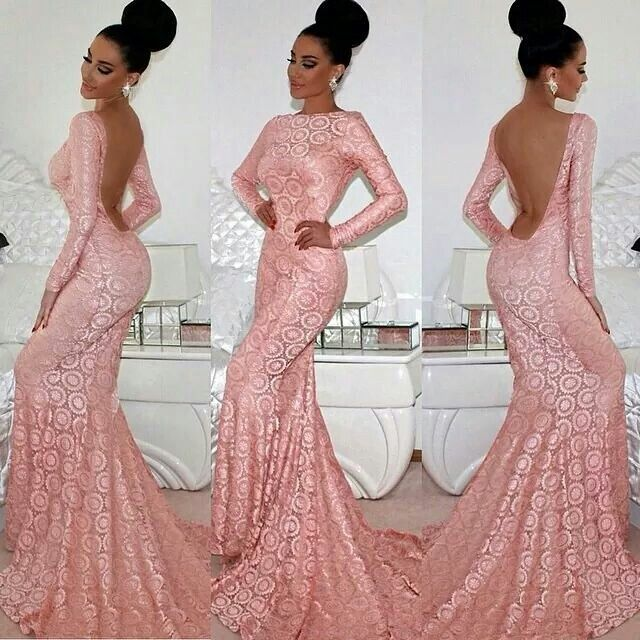 All i can say is wow what a beautiful stunning lace gown for Evening dresses for wedding reception