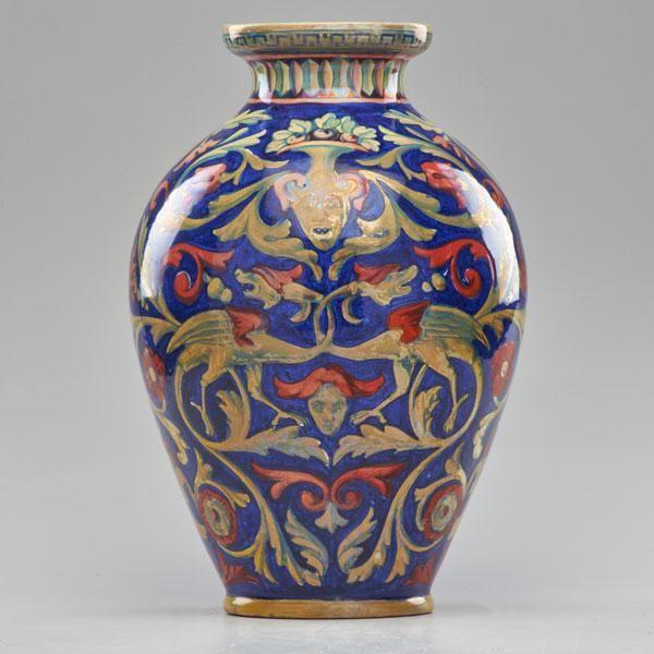I lustri), e di aprirvi un'attività di maioliche nell'ex convento di san. Societa Ceramica Umbra Ceramica Majolica Italian Ceramics