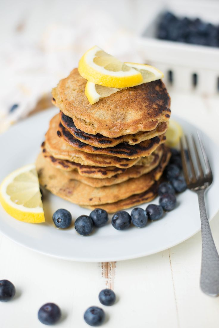 Tender, lightly sweet, and bursting with berries, One-Bowl Blueberry Lemon Pancakes are simple to whip up and make forthe perfect, healthy weekend treat.