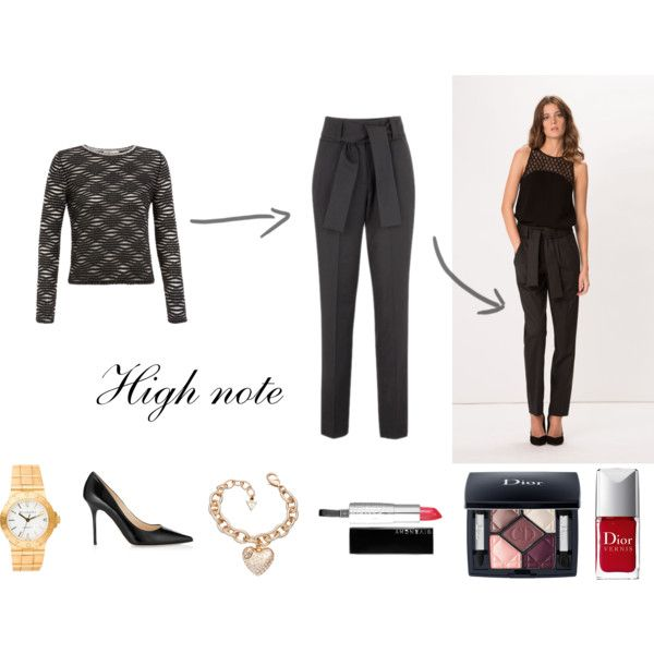 """""""Holiday outfit - High note"""" by thefashionjourn on Polyvore - Holiday style equations: http://bit.ly/1BZZuUt"""