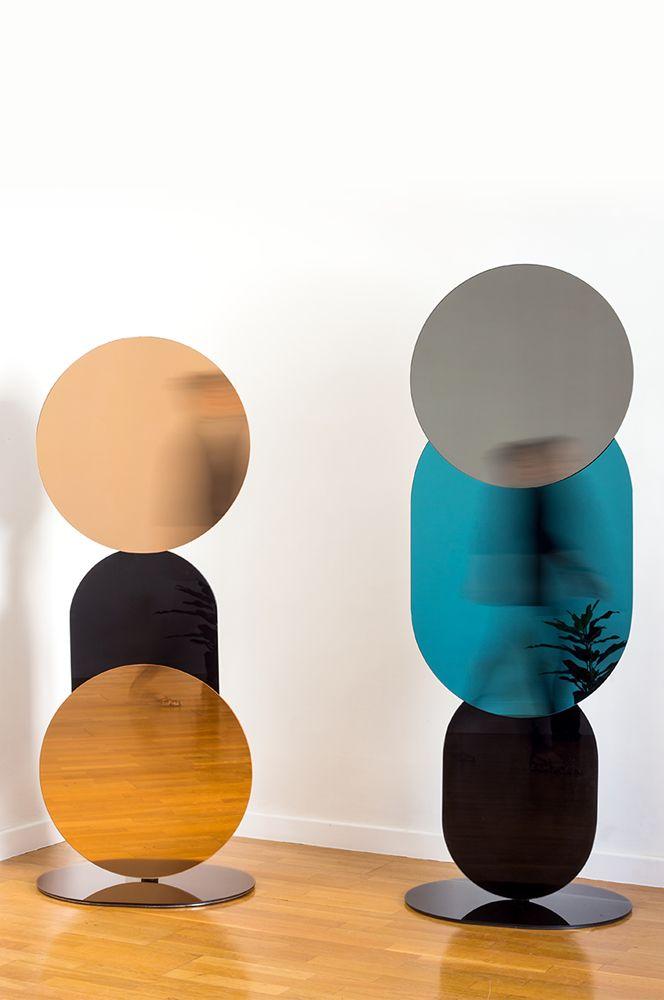 """""""Equilibrista Collection"""" - Collezione di specchi da terra, parete e console disegnata per Swing Design Gallery di Benevento"""