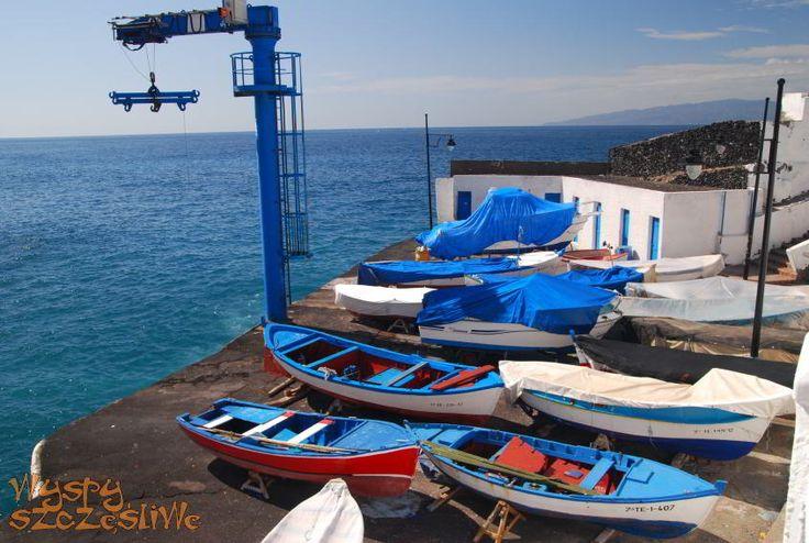 Stary port w Puerto de Santiago w obiektywie Łukasza