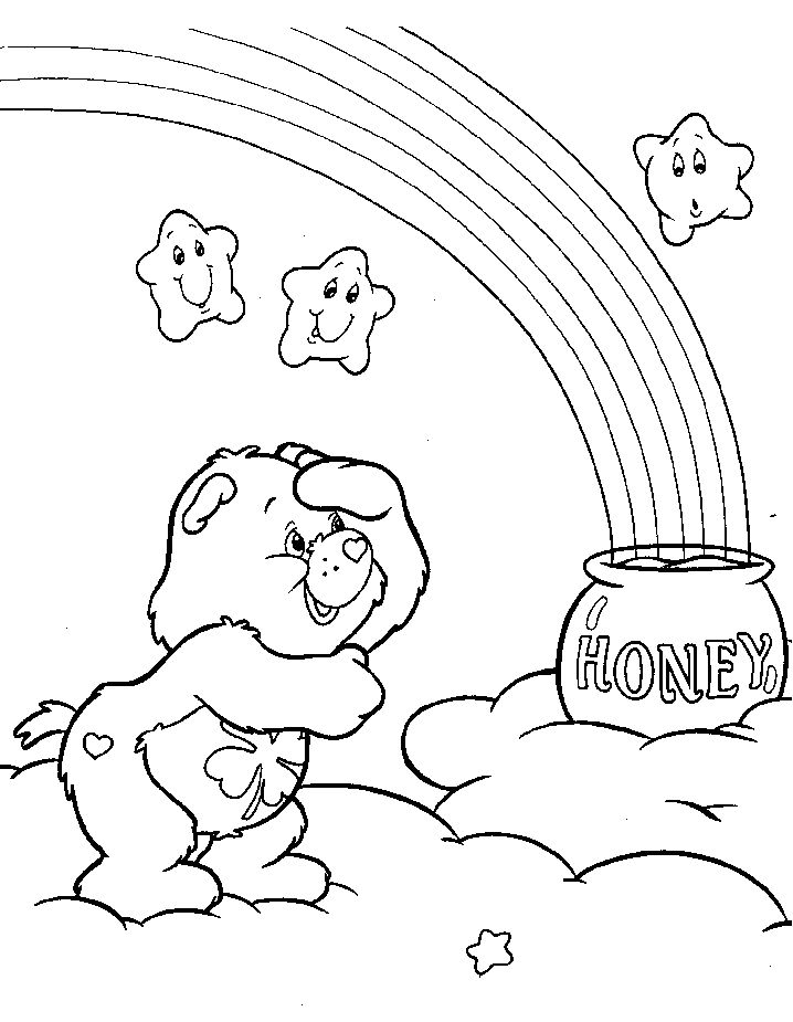 75 best Coloring pages images on Pinterest To draw, Elementary - best of coloring pages of rainbows to print