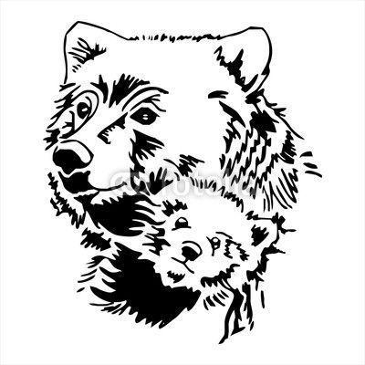 """Результат пошуку зображень за запитом """"bear art tattoo"""""""