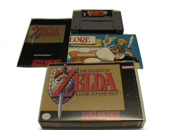 The Legend of Zelda Link to the Past  Super Nintendo Game