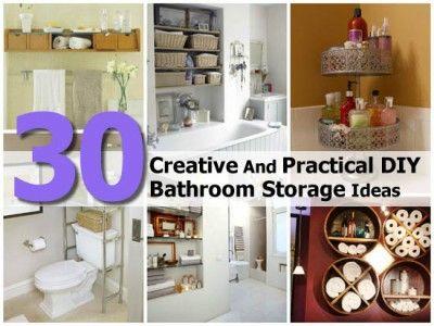 Creative Bathroom Storage Ideas. Love the colors i | IKEA Decoration