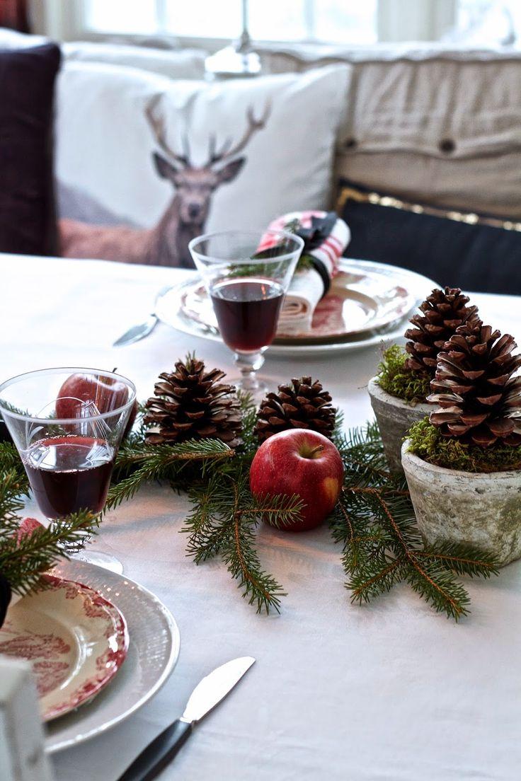 Ljusa drömmar på landet: Juldukning 2014...