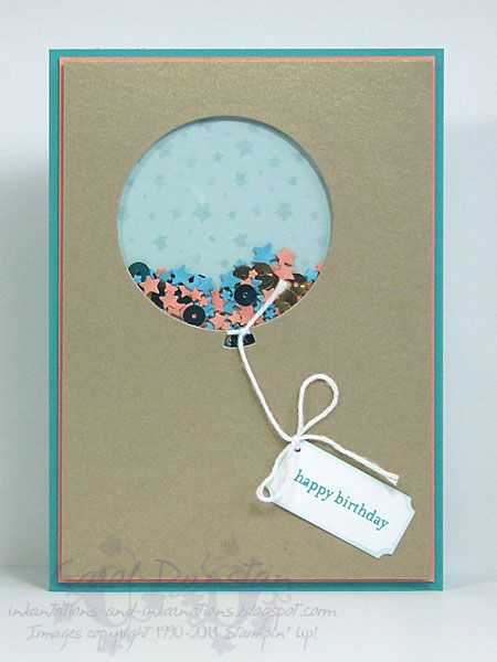 Stampin' Up! Celebrate Today & Teeny Tiny Sentiments