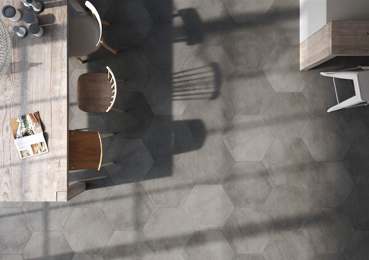 Edilcuoghi - Haus. Modern surfaces reminiscent of cement, characterized by soft shading and graphic effects. #Cersaie2015