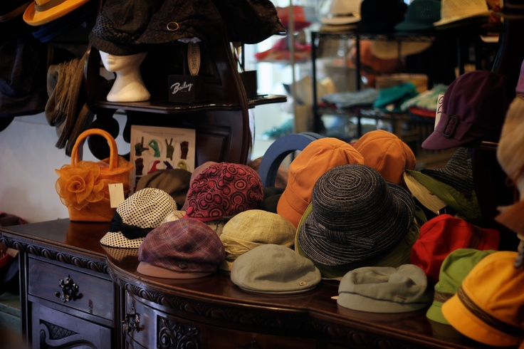 A variety of Lillie and Cohoe hats from our Spring/Summer 2013 collection- all available now