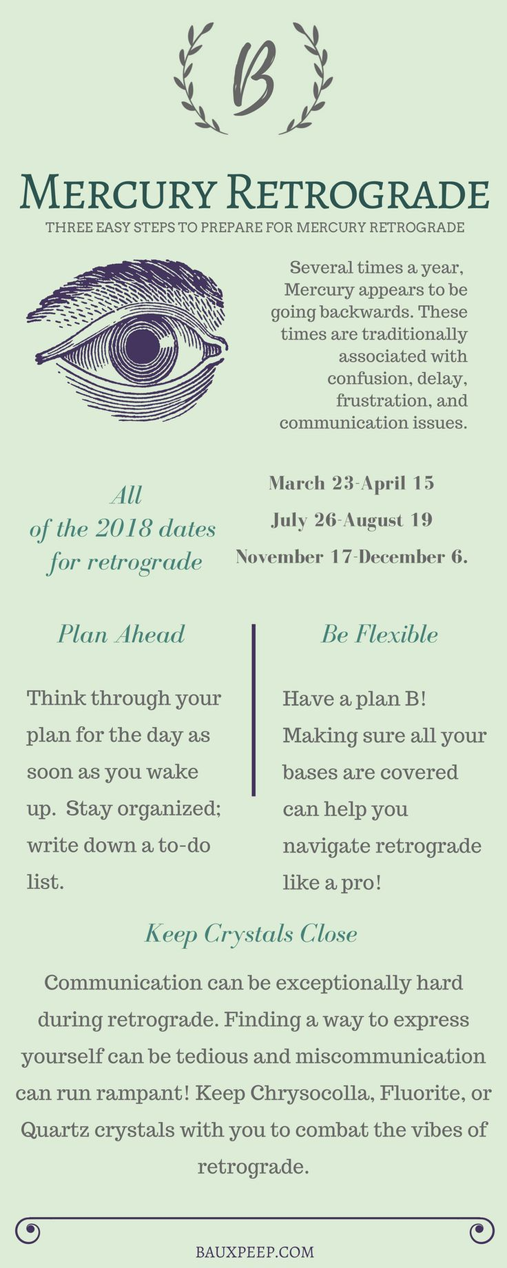 How to Navigate Mercury Retrograde -- in Three Easy Steps
